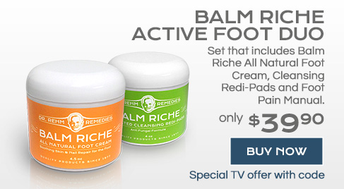 Dr Rehm Remedies | All Natural Foot Cream