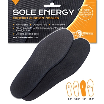 Comfort Cushion Insoles | Sole Energy | Dr Rehm Remedies