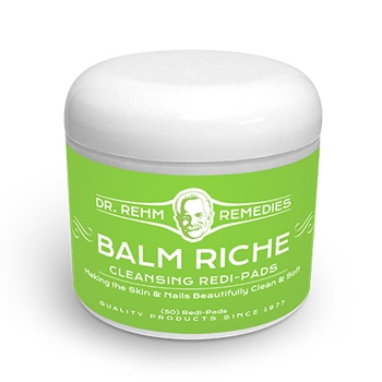 Cleansing Redi-Pads  | Balm Riche | Dr Rehm Remedies
